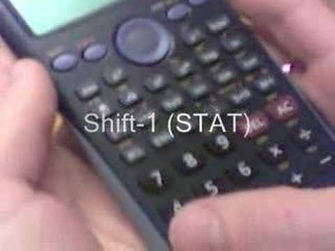 Standard Deviation and Mean (Casio fx85ES)