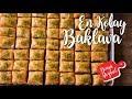Oklava Kullanmadan Sadece 4 Bezeyle Dünyanın En Kolay Baklavası / Bayram için Kat Kat Baklava Tarifi