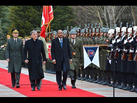 Visite Du President De La République Du Niger En Turquie