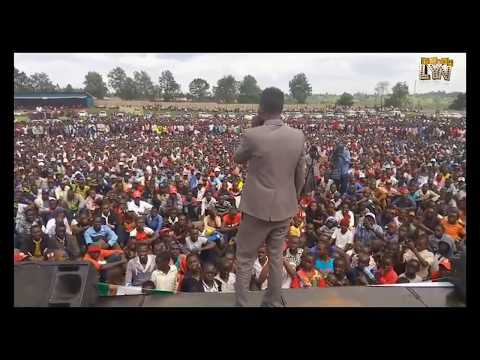 THIS IS HOW IT WENT DOWN DURING KENENE'S FUNDRAISING AT KAPKATET STADIUM.