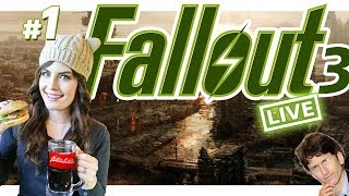 Fallout 3 (Part 1) Live Blindplay on Very Hard