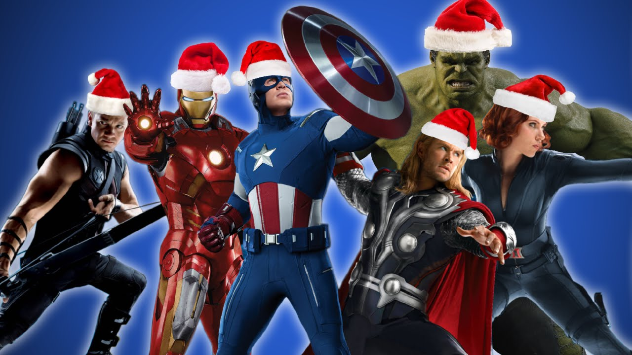 Los Avengers cantan villancicos navideños