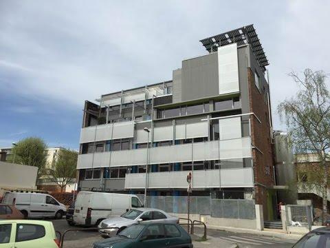 Présentation du siège de la société INEX - Bâtiment à énergie positive