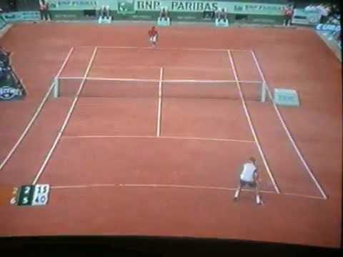 Tennis French Open 2012  Halbfinale  Ferrer - Nadal  (2:6 - 2:6)