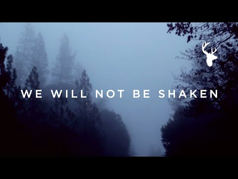 We Will Not Be Shaken (song)  // Brian Johnson // We Will Not Be Shaken Official Lyric Video