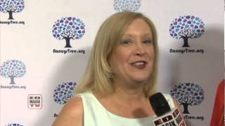 Peggy Sweeney McDonald Interview at Nancys Tree Garden Party