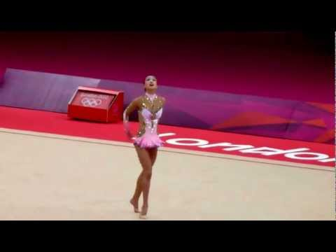 Son Yeon Jae Rhythmic Gymnastic London Olympics 2012 Individual Final Ball Routine 손연재