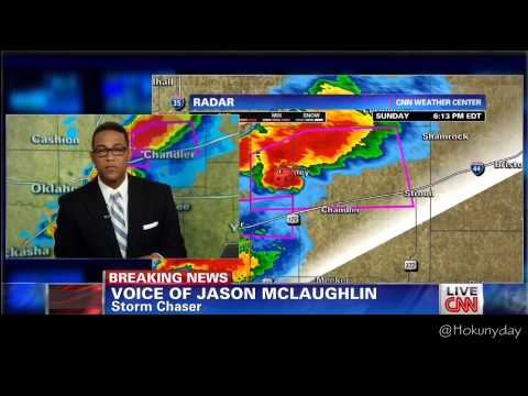 CNN - Tornado Touched Down in Oklahoma - May 19th 2013