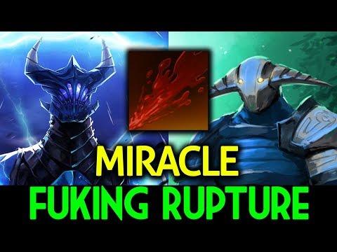 Miracle- [Razor] & [Sven] Dota 2 - Fuking Rupture !!!