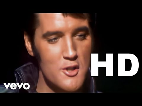 ELVIS - Blue Christmas (Best Picture & Sound Quality)