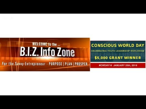 Business Money Strategy [SPECIAL 1/20/16] Celebrate Youth on Conscious World Day