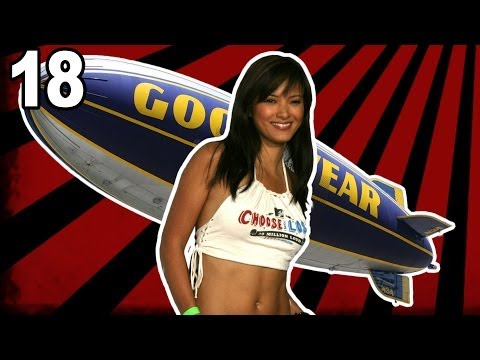 pwning Blimpz; Kelly Hu Is Not A Gamer video