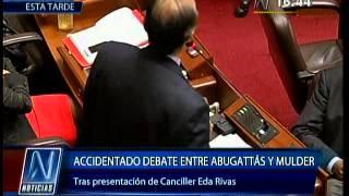 Daniel Abugattás y Mauricio Mulder protagonizan airado debate tras presentación de Eda Rivas