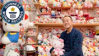 67-Year-Old Man Has the World's Largest Collection of Hello Kitty Memorabilia
