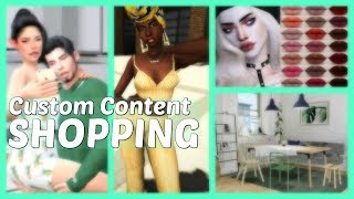 MEGA CC SHOPPING! Where I Get All Of My Custom Content + LINKS | The Sims 4
