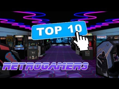 My Top 10 Arcades by RetroGamer3