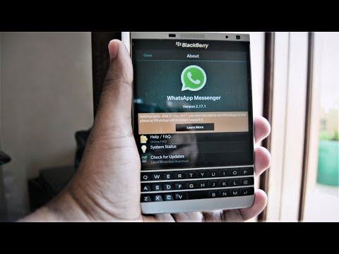 BlackBerry WhatsApp || Extended || 2017