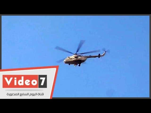 الهليكوبتر تجوب سماء القاهرة تحسبا لعنف الإخوان