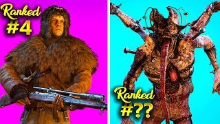 Ranking Every WWII Zombies Map From Worst to Best! (WWII Zombies Top 5)