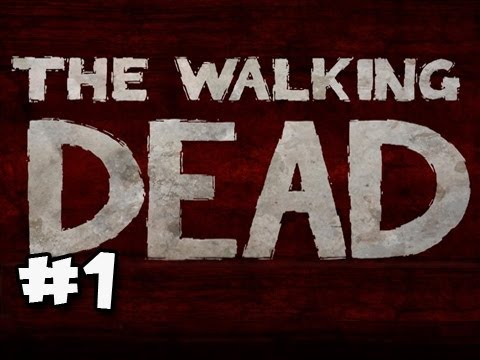 The Walking Dead Episode 1: A New Day Walkthrough Ep.1: COLORING BOOK UNICORN!