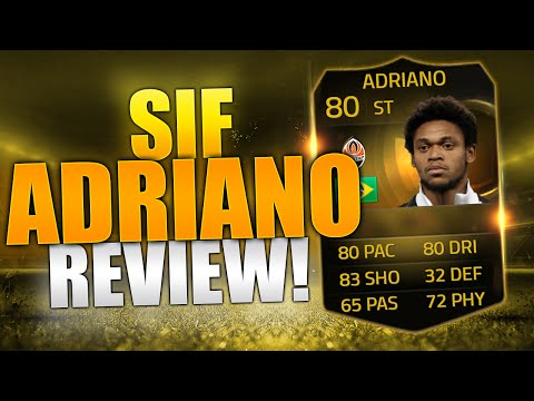 FIFA 15 SIF Luiz Adriano Review (80) W/ In Game Stats! - Fifa 15 Player Review