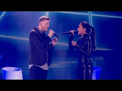 James and Nicole sing Bob Dylan's Make You Feel My Love - The Final - The X Factor UK 2012
