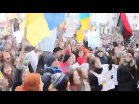 Хто не скаче   той москаль 30 04 2014 Луганск Харьков Донецк Славянск Краматорск