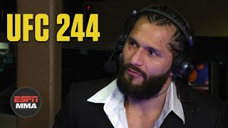 Jorge Masvidal wanted to finish his 'masterpiece' vs. Nate Diaz | UFC 244 | ESPN MMA