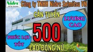Tuyển GẤP 500 lao động nữ LƯƠNG 7 - 9 TRIỆU làm việc tại khu công nghệ cao Hồ Chí Minh