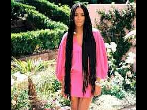 Solange Knowles Inspired | Hair Braiding Tutorial - YouTube