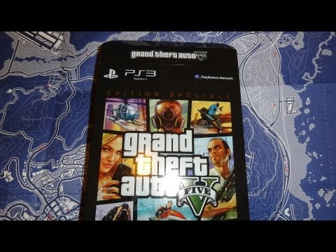GTA 5 - special edition (Unboxing)  ГТА 5 - спец.издание (распаковка)