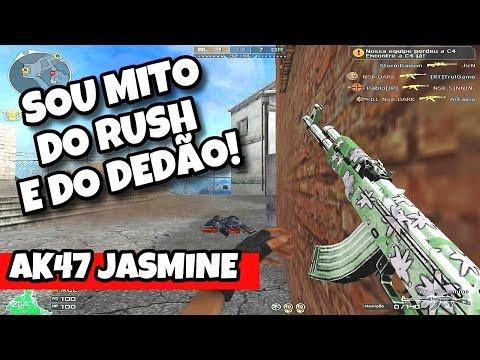 🔴 AK47 JASMINE | SOU MITO DO RUSH E DO DEDÃO | CROSSFIRE AL 2.0