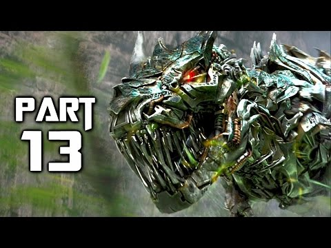Transformers Rise of the Dark Spark Walkthrough Gameplay Part 13 - Dino Crisis (PS4)