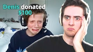 I DONATED $100 TO A STREAMER AND THIS HAPPENED..