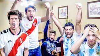 Peru 3 Chile 0 | Reacciones de Argentinos | Partido Internacional