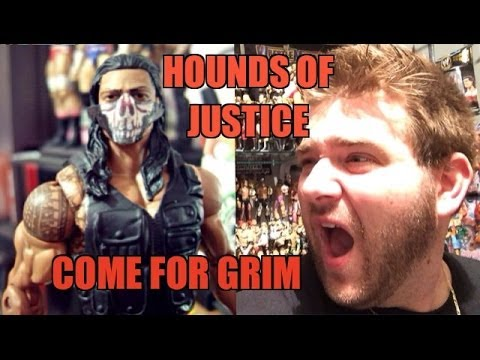 Grim's Toy Show ep 809: Off to JAIL!! WWE Mattel Wrestling action figure elites collection pics