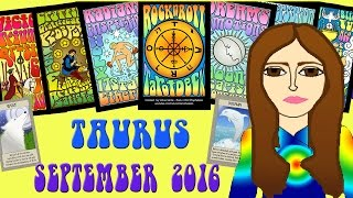 TAURUS SEPTEMBER  2016 Tarot psychic reading forecast predictions free