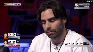 EPT 11: Key Hand Busquet vs Reichardt, Runner Runner Full House – EPT100 Barcelona | PokerStars