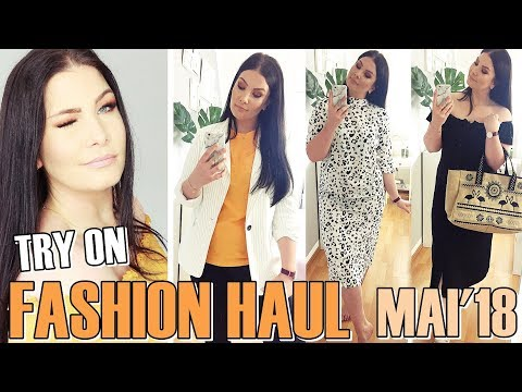 TRY ON FASHION HAUL MAI 2018 / H&M, ASOS ...