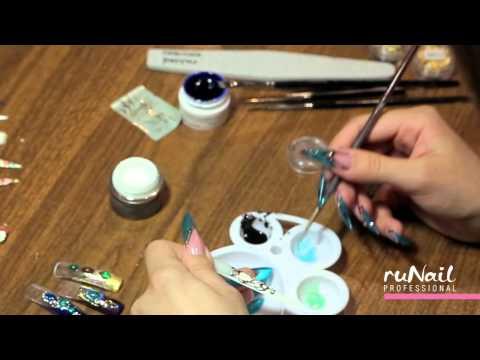 Видео уроки по дизайну ногтей гель лак