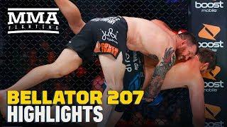 Bellator 207 Highlights: Ryan Bader Overwhelms Matt Mitrione - MMA Fighting