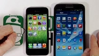 "Samsung Galaxy Note 3 vs iphone 5s Exynos ""Benchmark Test ""Geekbench"""