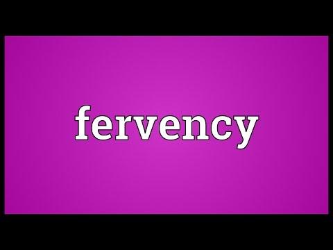 Header of fervency