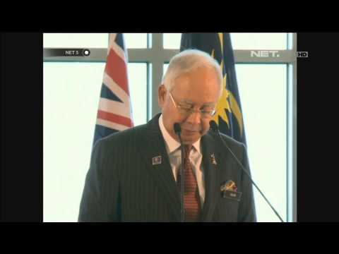 Kerja Sama Pencarian MH370 Australia dan Malaysia - NET5