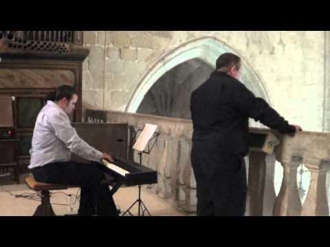 Juan Carlos Martos, tenor, Antonio Luis Suárez, órgano, Santo Schubert .MTS