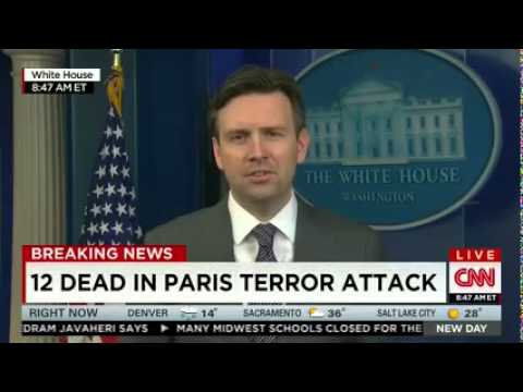 WH Unsure Whether Murderous Rampage in France Is 'Terrorism'