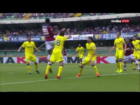 Serie A 36. hafta I Chievo 2-1 Crotone Maç Özeti
