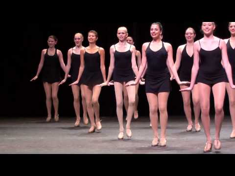 2013 Radio City Rockettes Summer Intensive - Happy Feet