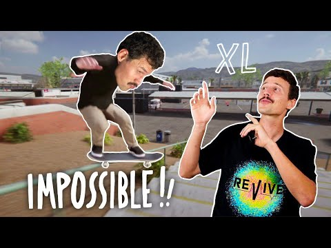 IMPOSSIBLE TRICKS IN SKATER XL!