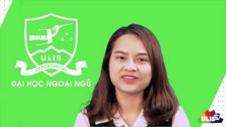 [ULIS Support TV] Tôi học ULIS để có việc làm tốt